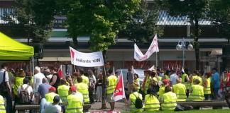 Streik von ver-di - Archivbild 2016