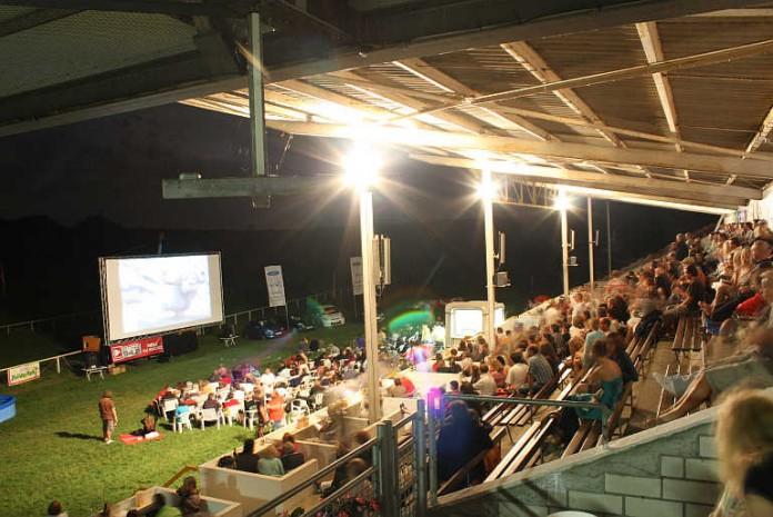 Das Haßlocher Open-Air-Kino (Foto: Gemeindeverwaltung Haßloch)