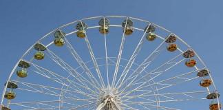 Das Riesenrad (Archivfoto: Büro für Tourismus Landau)