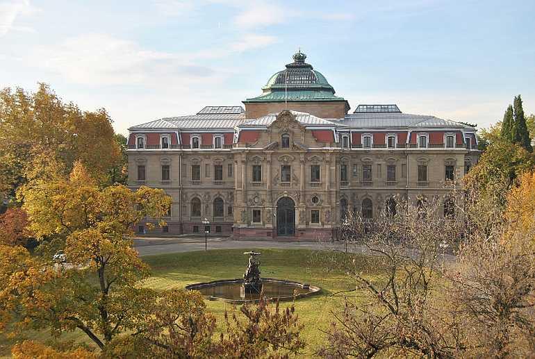 Der Bundesgerichtshof in Karlsruhe © BGH