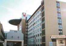 Krankenwageneinfahrt des Westpfalz-Klinikums in Kaiserslautern (Foto: Westpfalz-Klinikum)
