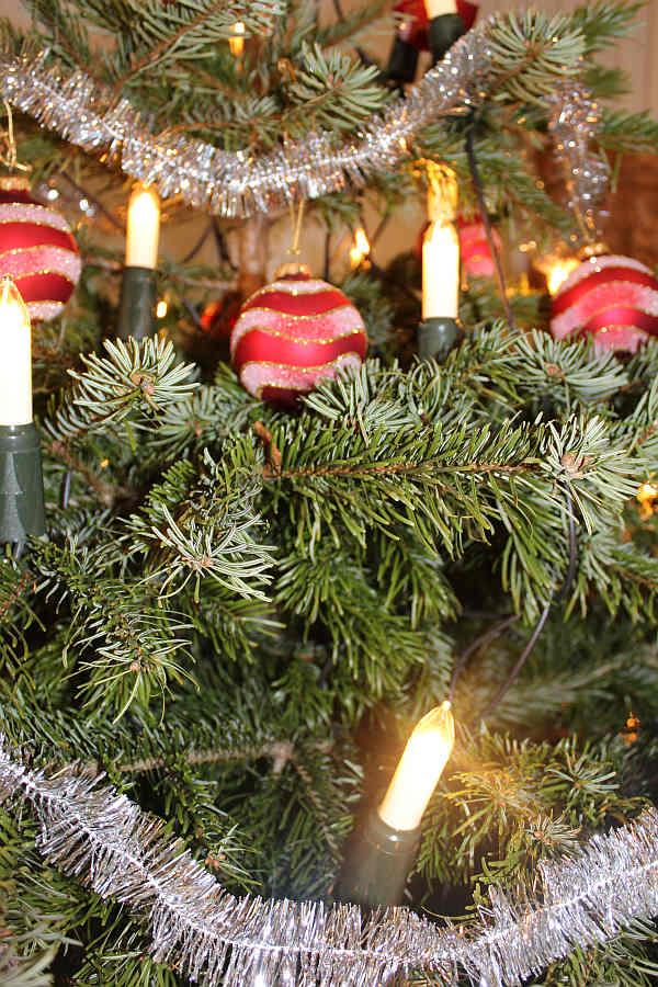 Weihnachtsbaum lametta geschichte