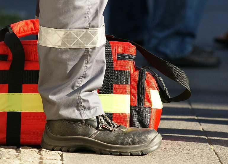 Symbolbild Erste Hilfe (Foto: Holger Knecht)