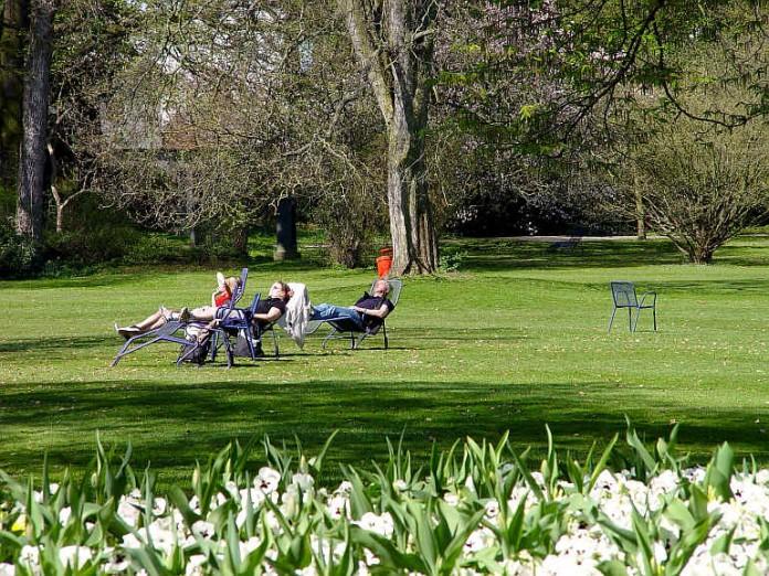 Der Luisenpark (Foto: Stadtpark Mannheim)