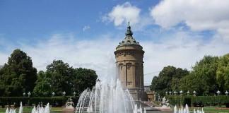 Der Mannheimer Wasserturm - Wahrzeichen der Stadt (Foto: Holger Knecht)