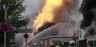 Am 23.10.2014 kam es zu der verheerenden Gasexplosion (Foto: Metropolnews)