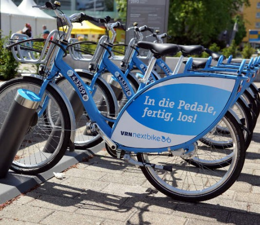 Mietfahrräder (VRNnextbike) (Foto: Holger Knecht)