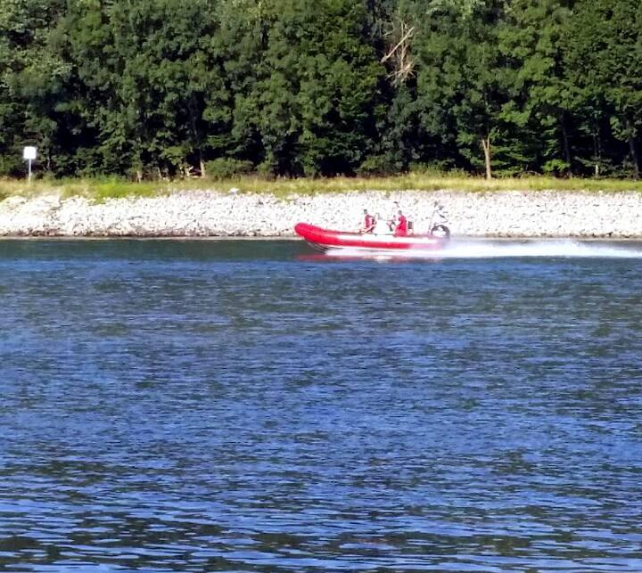 Rhein Unfall