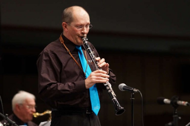 Rainer Dietz am Altsaxophon
