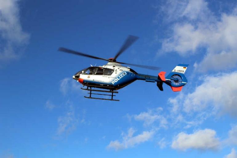 Hubschraubereinsatz Frankenthal