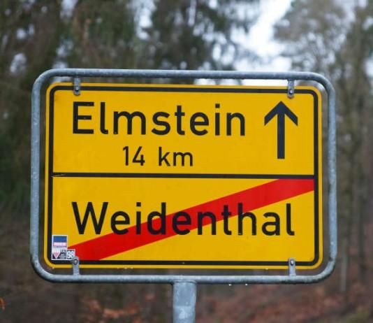 Ort(ausgangsschild (Foto: Holger Knecht)