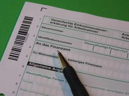 Symbolbild Steuererklärung (Quelle: Pixabay)