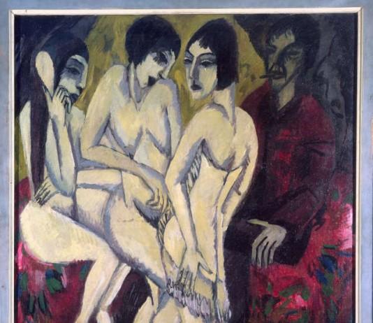 """Ernst Ludwig Kirchner: """"Urteil des Paris"""""""