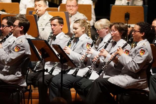 Holzbläser des Musikkorps