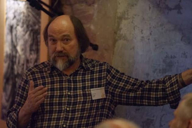Ernst Krause vom Jazzhaus Heidelberg