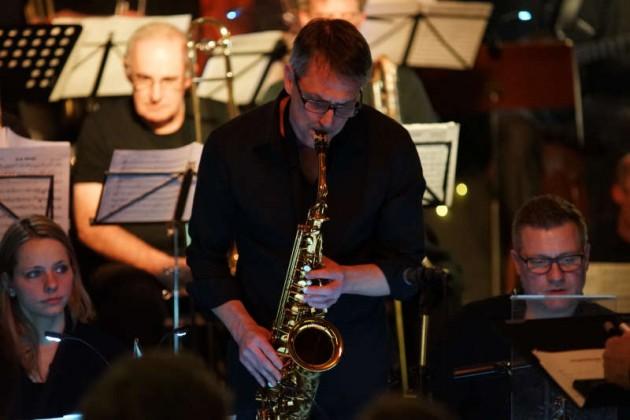 Ralf Brinkmann am Altsaxophon