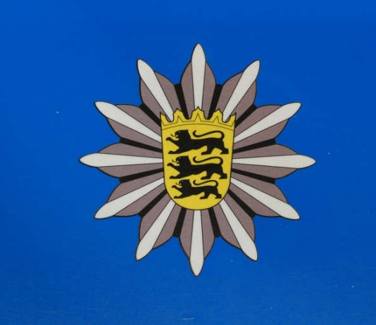 Symbolbild Polizei, BW, Stern
