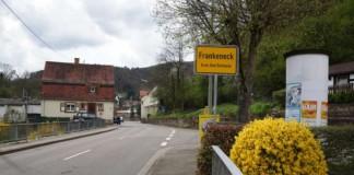 Ortseingang Frankeneck (Foto: Holger Knecht)