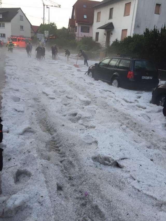 Unwetterwarnung Kaiserslautern