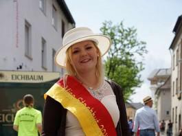 Miss Strohhut 2016/2017 Franziska Ratz (Foto: Holger Knecht)