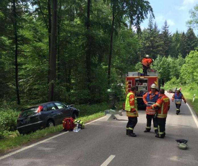Unfall Völkersbach