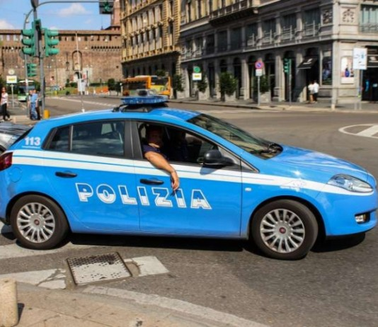 Polizeiauto in Italien