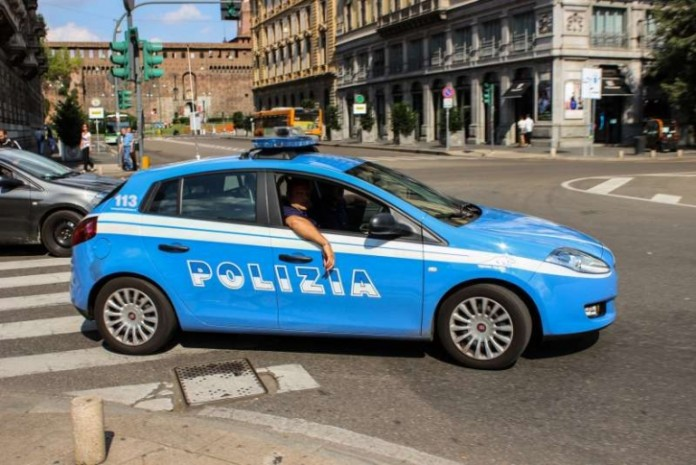 Polizeiauto in Italien