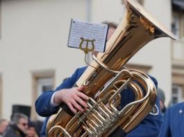 Symbolbild Musikverein Blasorchester Tuba (Foto: Holger Knecht)