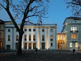 Das Theater Heidelberg in der Theaterstraße 6 (Foto: waechter+waechter Architekten)