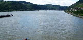 """Ein Ruderboot bei """"All You Can Row 2016"""" auf dem Rhein (Foto: Steffen Voigt)"""