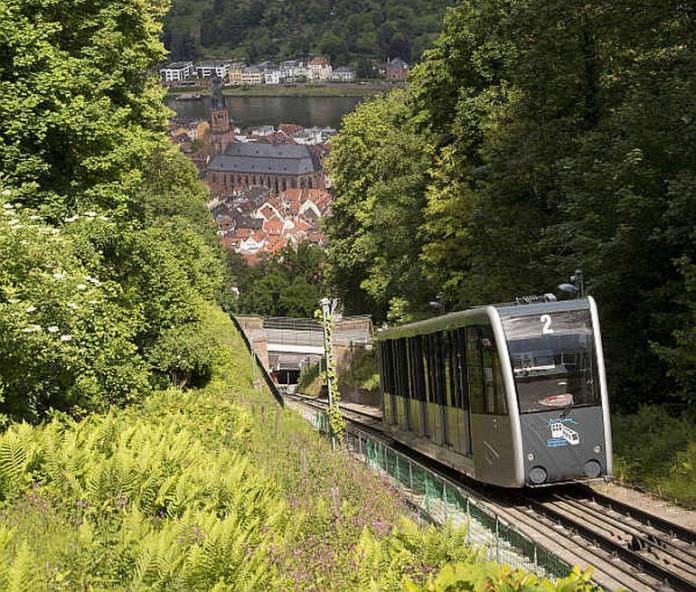 Die obere Bergbahn (Foto: Stadtwerke Heidelberg GmbH)