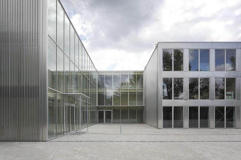 Europaeische Schule -Erweiterungsbau (Foto: RADON photography / Norman Radon)