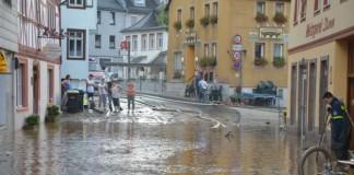 Großeinsatz in Stromberg (Foto: Kreisverwaltung Bad Kreuznach)