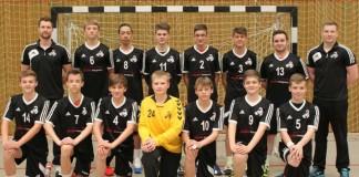 Foto der Handball-B-Jugend des TuS 04 KL-Dansenberg und des TV Thaleischweiler (Foto: TuS 04 KL-Dansenberg e.V.)