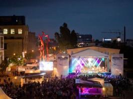 Osthafen Festival (Archivbild 2014, Foto: HFM/Salome Roessler)