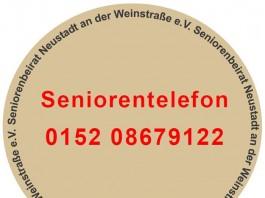 Die Rufnummer für das Beratungsangebot des Seniorenbeirats (Foto: Stadtverwaltung Neustadt an der Weinstraße)