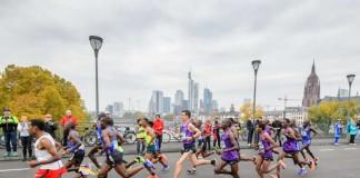 Spitzenläufer beim Marathon (Foto: Mainova Frankfurt Marathon)