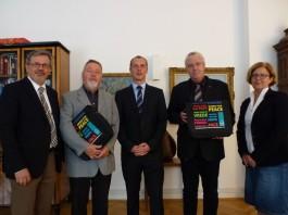 Ernennung und Ehrung für ehrenamtliches Engagement im Rathaus (Foto: Stadt Speyer)