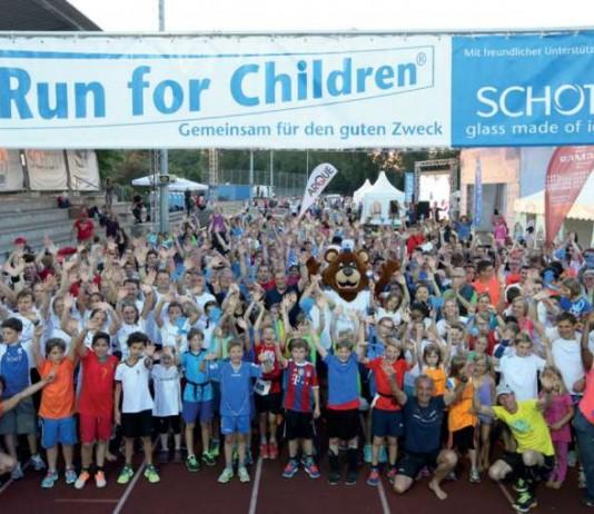 Foto vom Run for Children (Archivfoto 2015, Foto: SCHOTT AG)