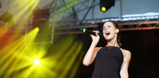 Topact Lena auf der SWR3-Bühne (Foto: Holger Knecht)