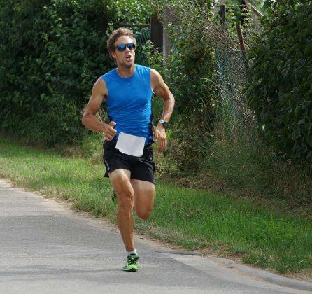 Der Sieger der 5-km-Distanz, David Mohr (Foto: Holger Knecht)