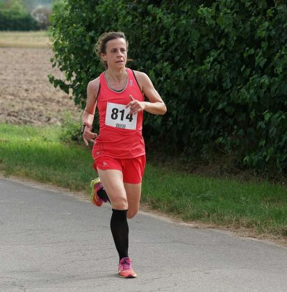 Die Siegerin der 5-km-Distanz, Janine Friedel (Foto: Holger Knecht)