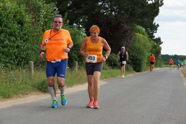 Die Siegerin der 5-km-Walkingstrecke, Gudrun Bless (Foto: Holger Knecht)