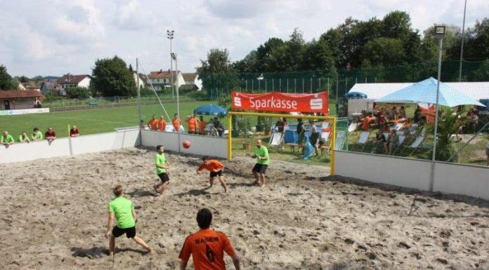 Der bfv-Beachsoccer-Cup beim FC Bammental (Foto: Badischer Fußballverband)