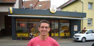 Kann verletzungsbedingt nicht mitmachen, würde aber gerne den Startschuss abgeben: Jannik Arbogast in Hohenwettersbach (Foto: Hannes Blank)