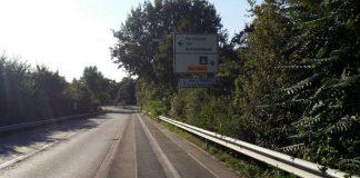 Der Schänzeldamm Fahrtrichtung Bruchwiesenstraße (Foto: Metropolnews)