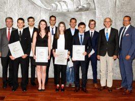 Preisverleihung TU KSK Studenten