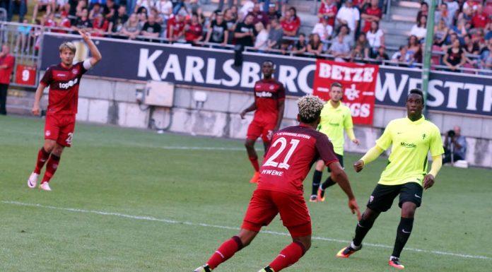 Spielszene im Spiel 1.FCK gegen FC Metz (Foto: Holger Knecht)