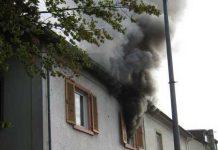 Die RTW-Besatzung sah zufällig den Rauch und erkannte die drohende Gefahr