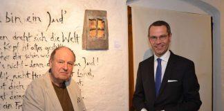 Wolf Spitzer und Bürgermeister Dr. Maximilian Ingenthron (Foto: Stadt Landau in der Pfalz)